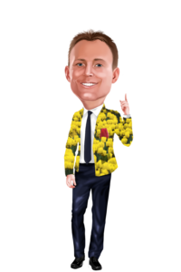 Andy Buyting Caricature