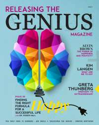 Releasing the Genius Magazine